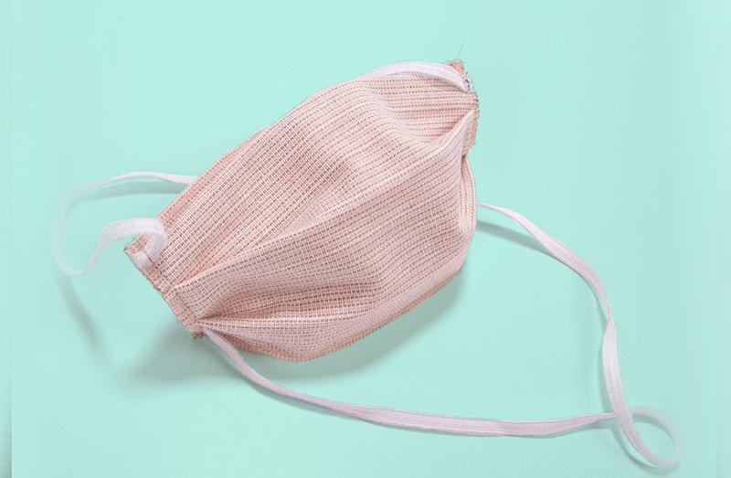 masque de confort en Tissu 3 couches
