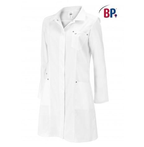 blouse dame cintrée, en stretch et coton
