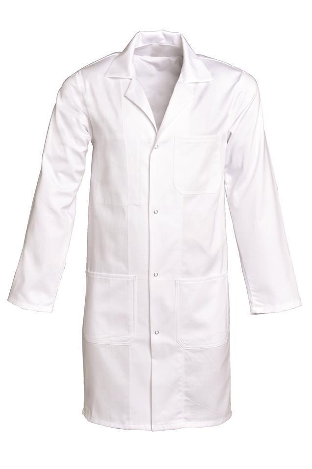 blouse type laboratoire 100% coton