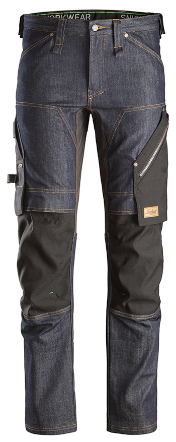 Snickers 6956 - FlexiWork, Pantalon+ denim