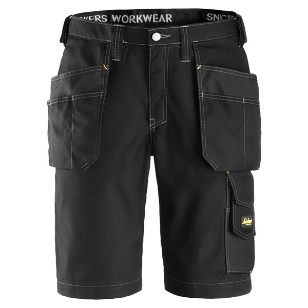 Snickers 3023 - Short avec poches holster, Rip-Stop