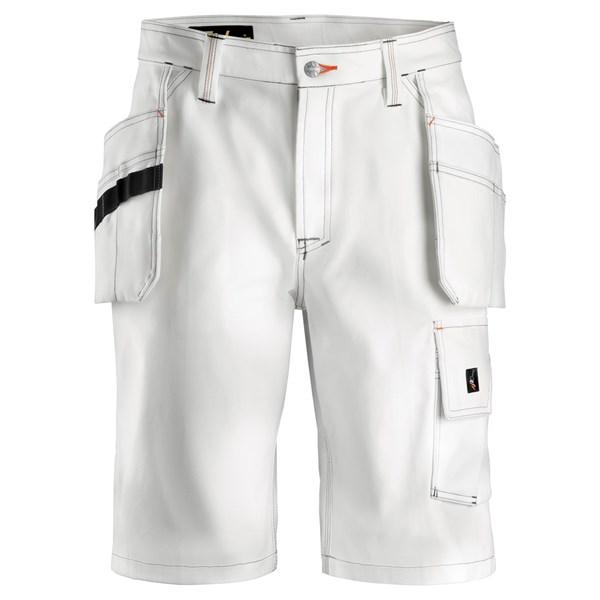 Short de peintre avec poches holster