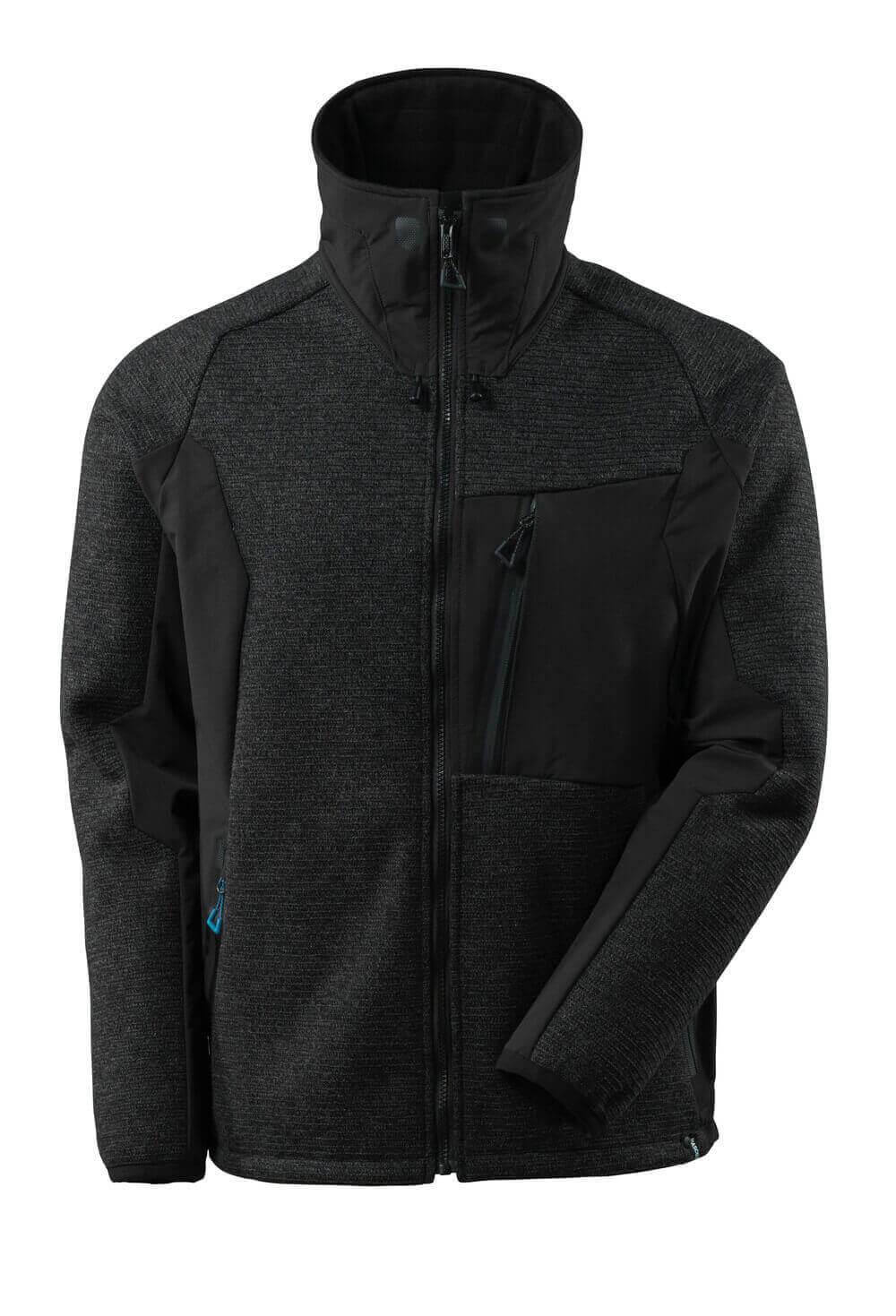 Veste en tricot, zippé, hydrofuge, Mascot