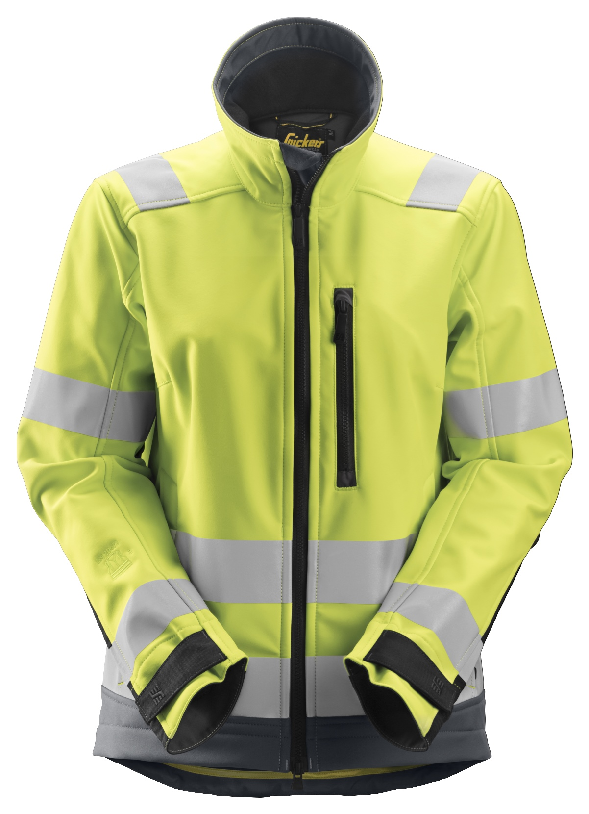 Snickers 1237 - Softshell HV femme Cl 2/3