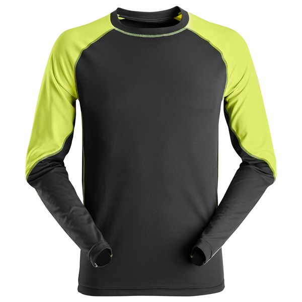 Snickers 2405 - T-shirt Neon avec manches longues