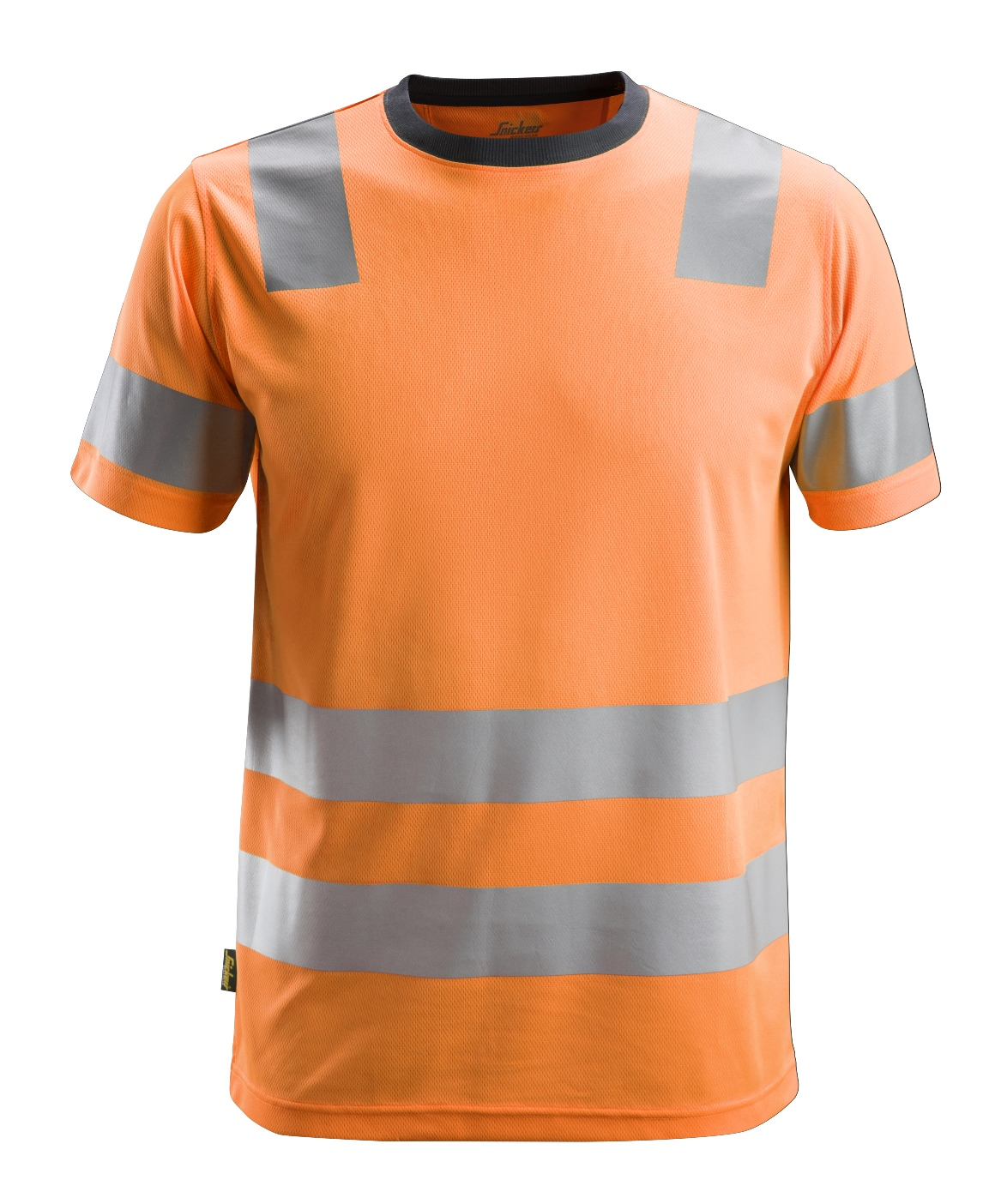 Snickers 2530 - T-shirt HV, AllroundWork CL2