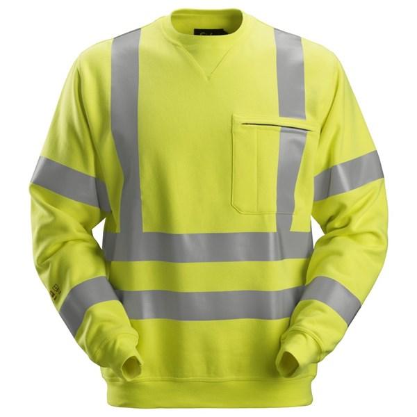 Snickers 2863 - PW Sweat-shirt, haute visibilité, Classe 3