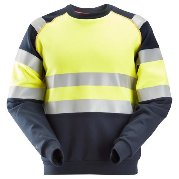 Snickers 2869 - PW Sweat-shirt, haute visibilité, Classe 1