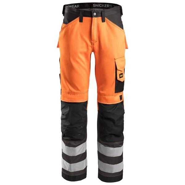 Snickers 3333 - Pantalon haute visibilité, Classe 2