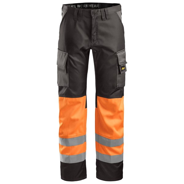 Snickers 3833 - Pantalon haute visibilité, Classe 1