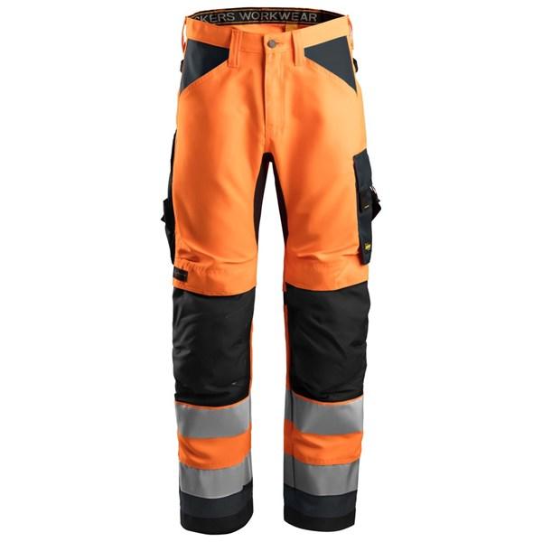 Snickers 6331 - AllroundWork Pantalon+ haute visibilité, Classe 10