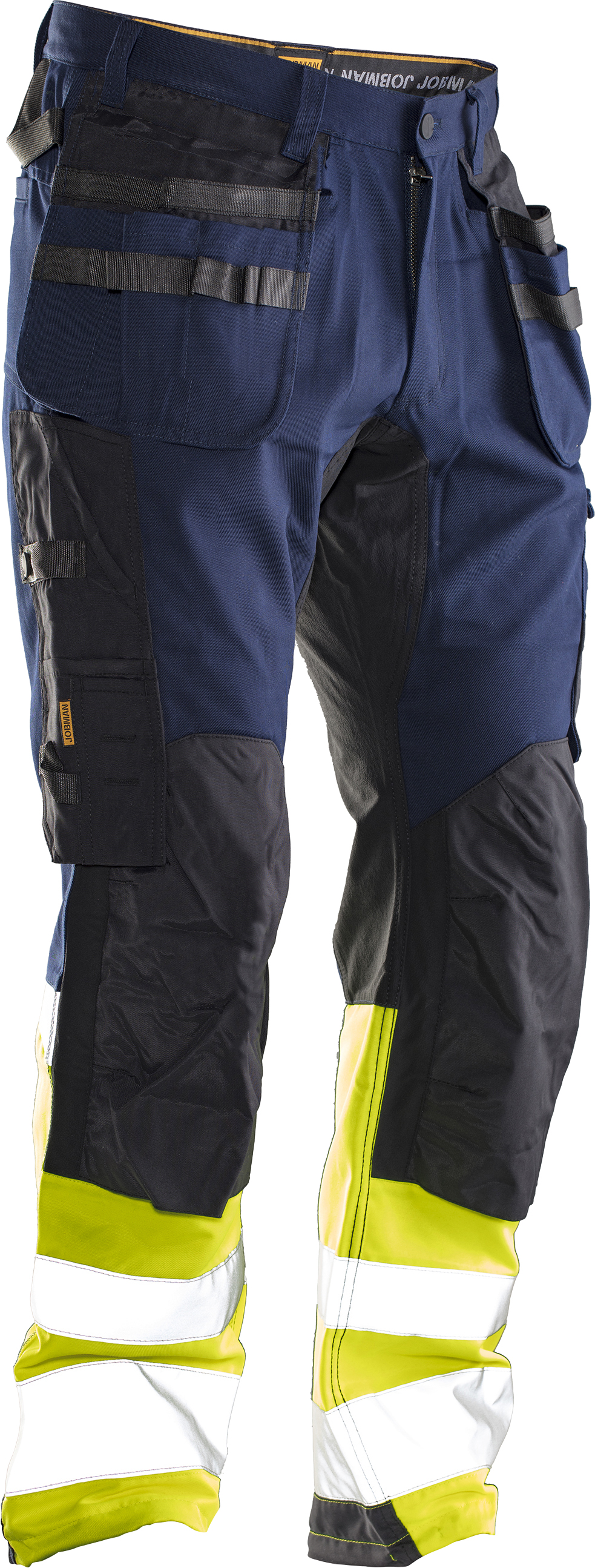 2134 Pantalon d'artisan Core stretch Hi-Vis D92 navy/jaune
