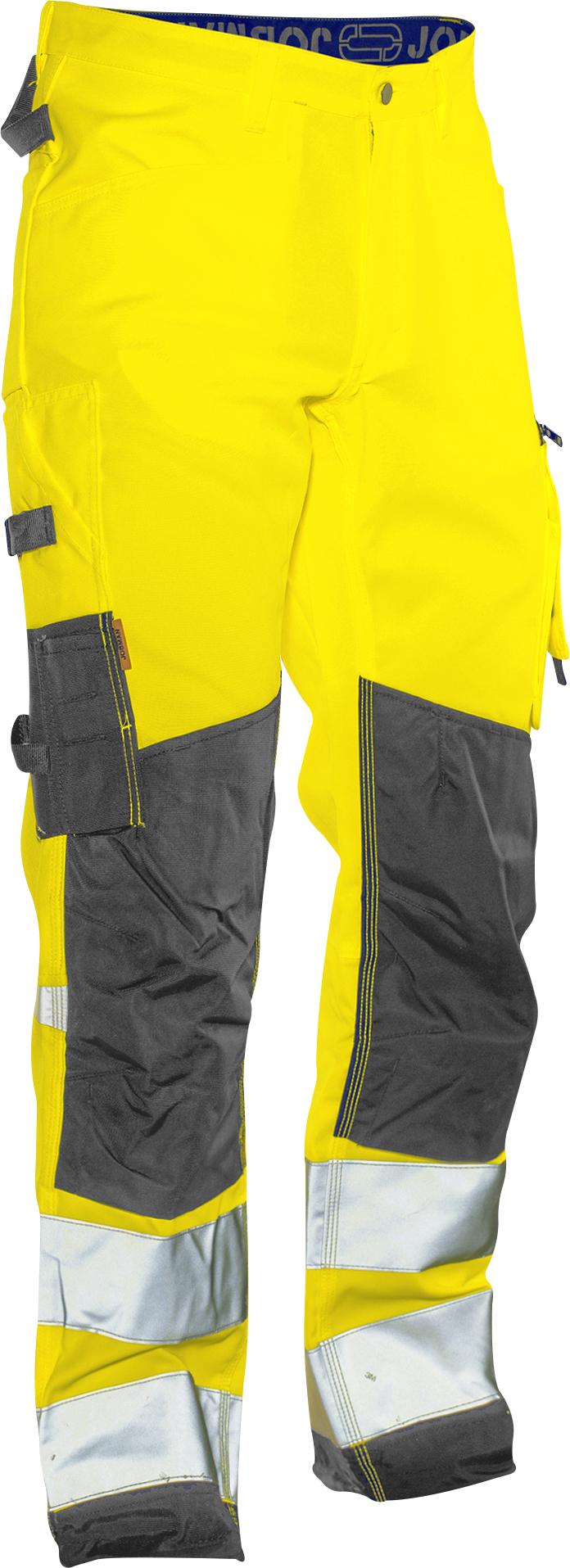 2221 Pantalon de service Star Hi-Vis C146 jaune/noir
