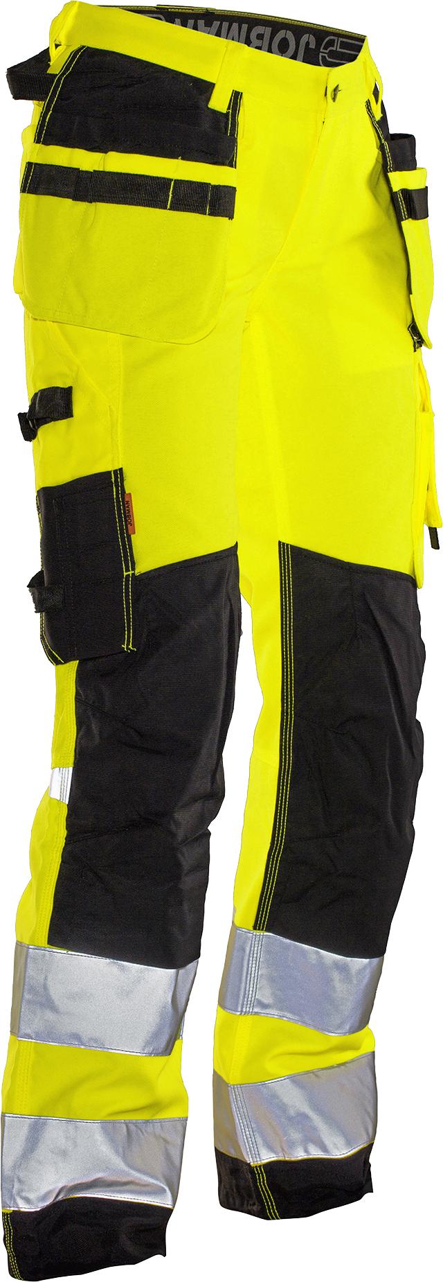 2272 Pantalon d'artisan Star pour femme HI-VIS DA34 jaune/noir