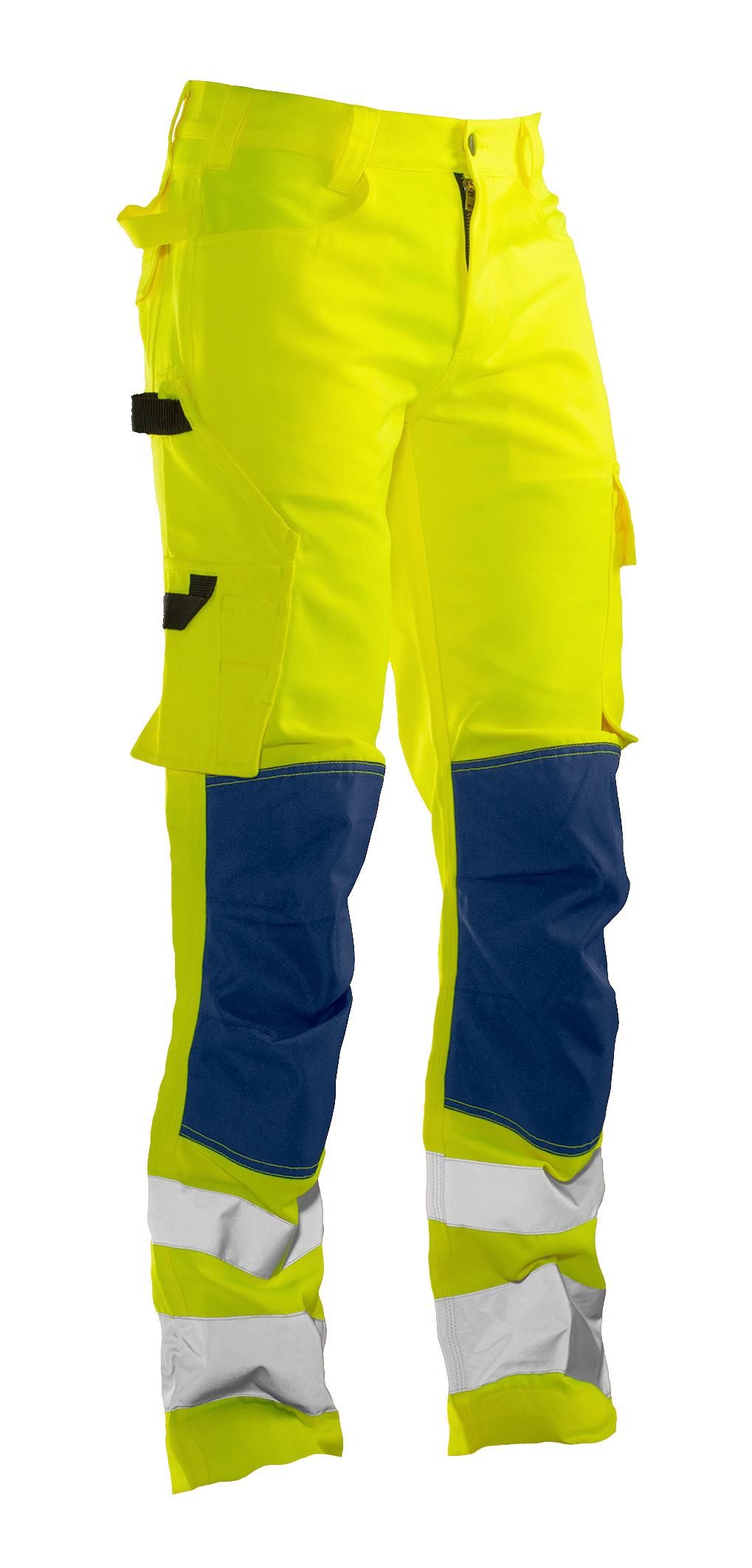 2378 PANTALON DE SERVICE HI-VIS C42 jaune/bleu marine
