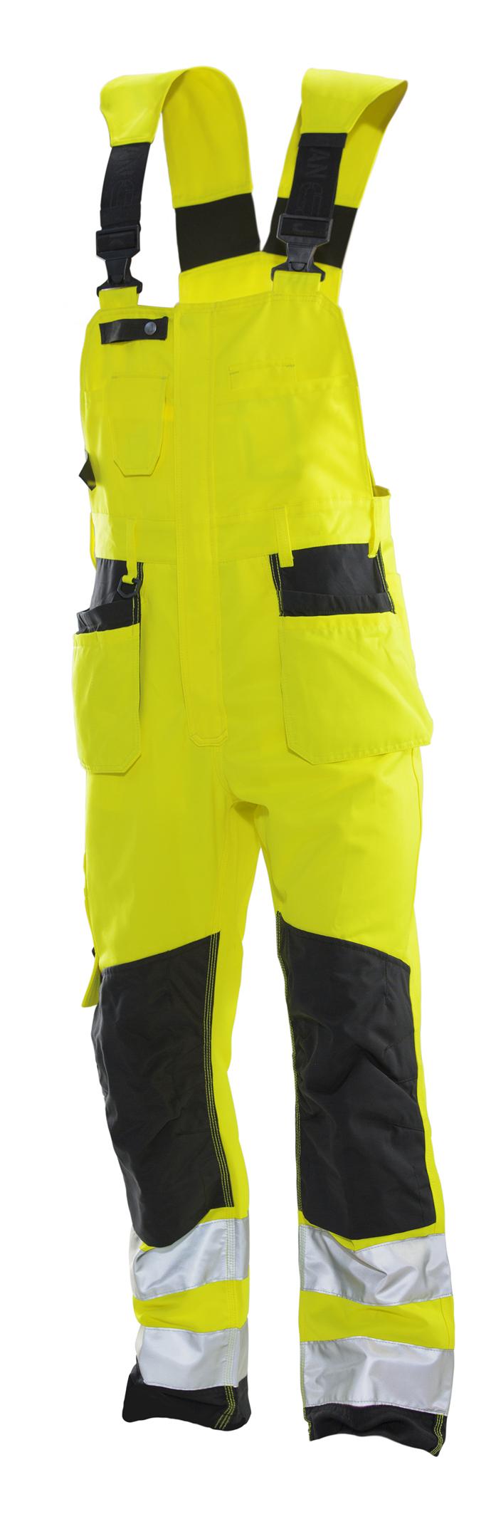 3231 Salopette Hi-Vis C148 jaune/noir
