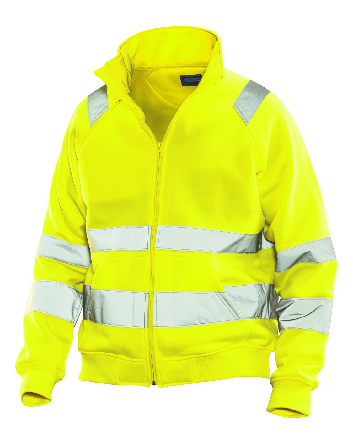 5172 Sweatshirt zippé Hi-Vis 3XL jaune