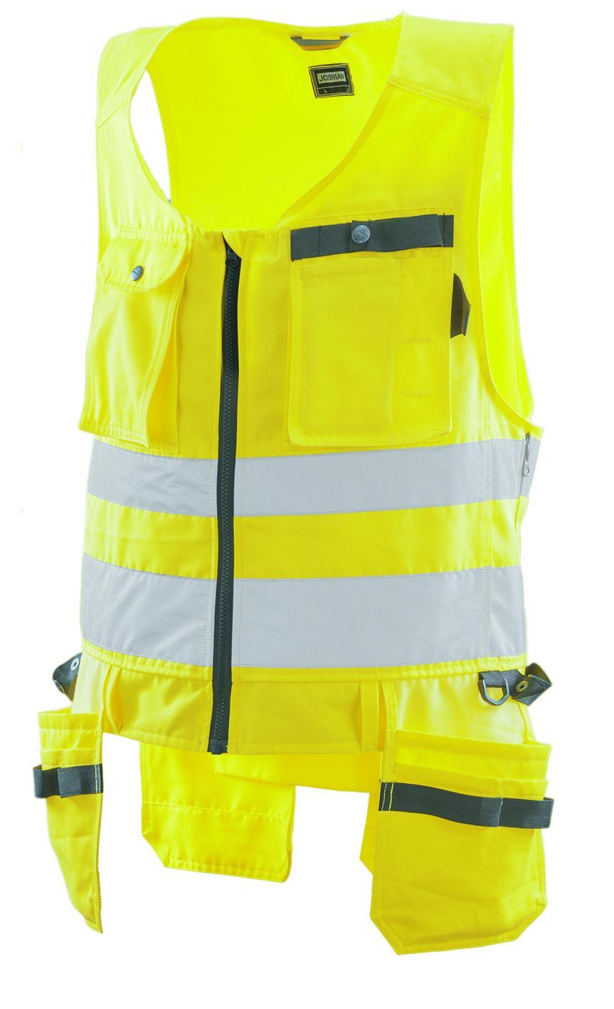 7346 Gilet d'artisan Hi-Vis 3XL jaune