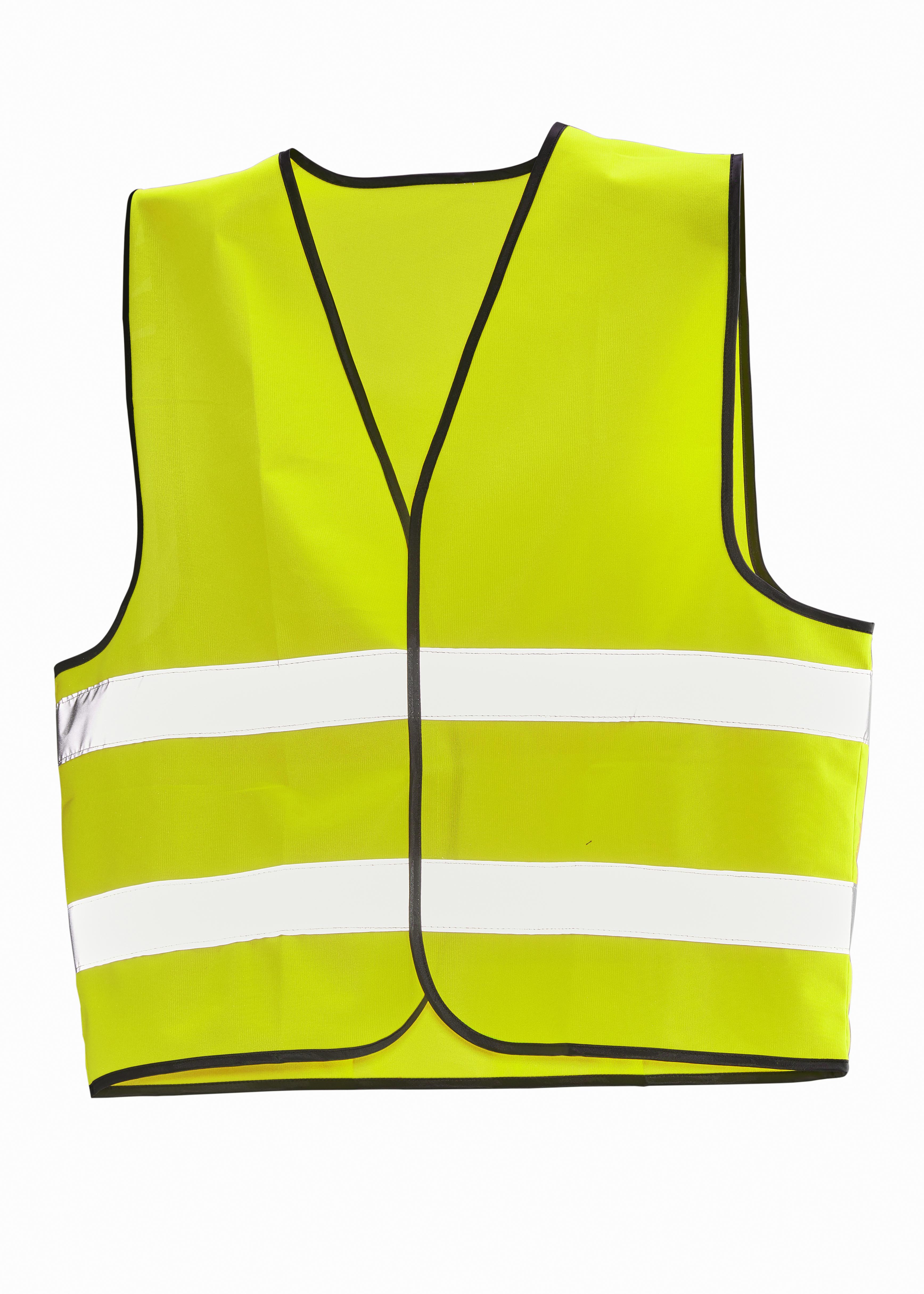 7590 Gilet Hi-Vis - 10 pièces One size jaune/ jaune
