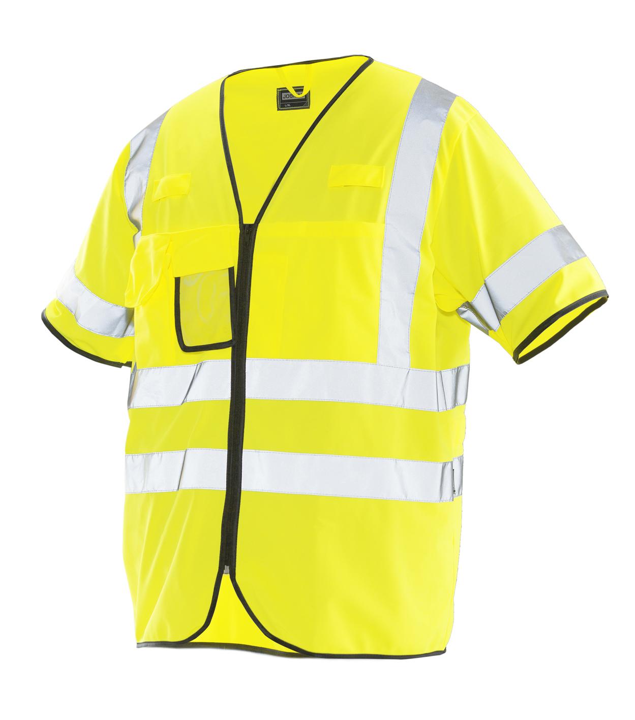 7598 Gilet Haute Visibilité 5 jaune