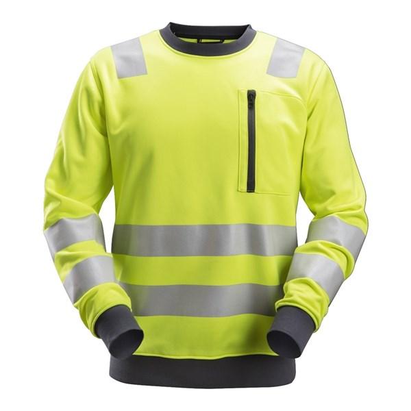 Snickers 8037 - AllroundWork Sweat-shirt haute visibilité, Classe 2/3