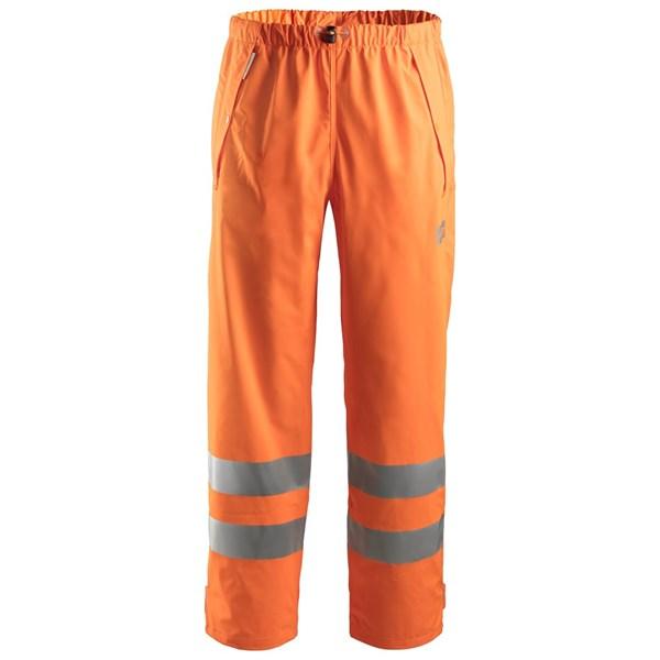 Snickers 8243 - Pantalon de pluie PU haute visibilité, Classe 2