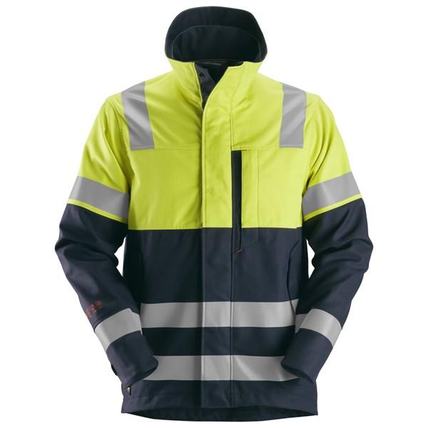 Snickers 1560 - Protectwork, veste multinormes haute visibilité, Classe 2