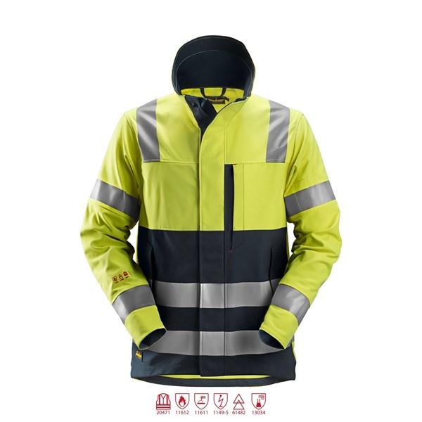 Snickers 1560 - Protectwork, veste de travail multinormes haute visibilité, Classe 3