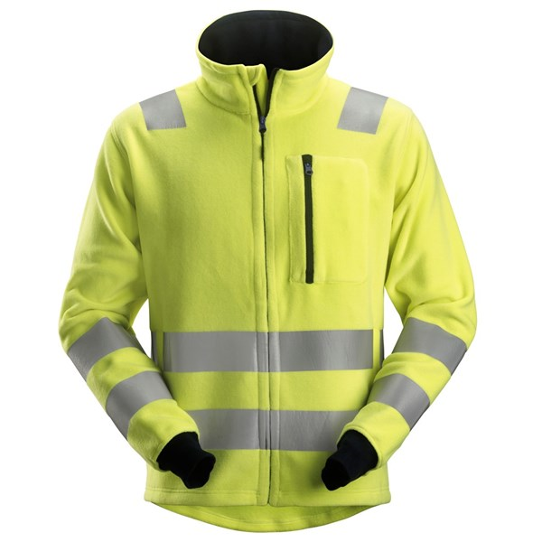 Snickers 2860 - PW Veste en fleece, haute visibilité, Classe 3