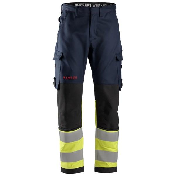 Snickers 6363 - PW Pantalon, haute visibilité, Classe 1