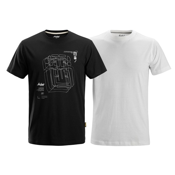 Snickers 2522 - T-Shirt 2pack