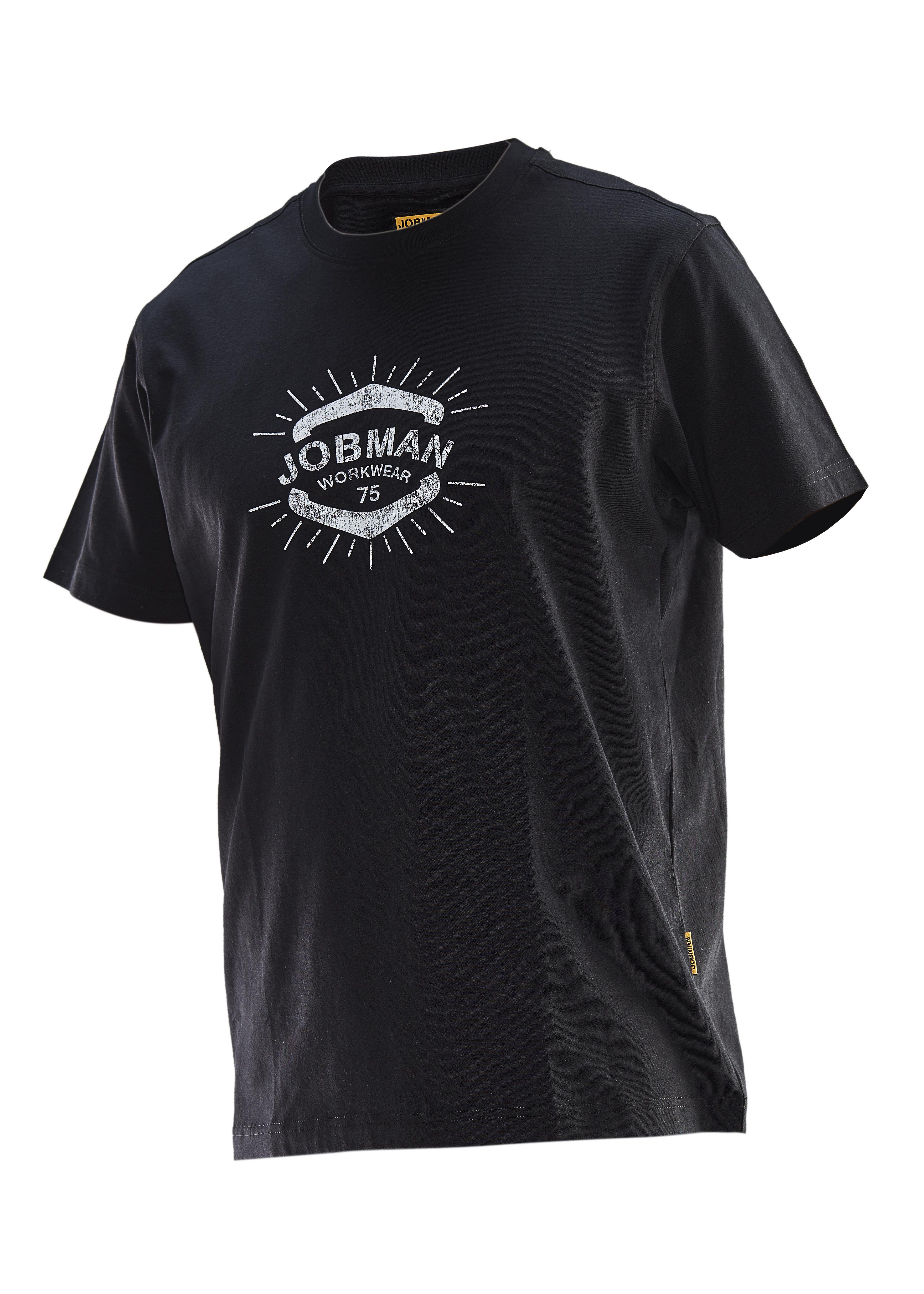 5266 T-shirt imprimé Beatnik 3XL noir/blanc