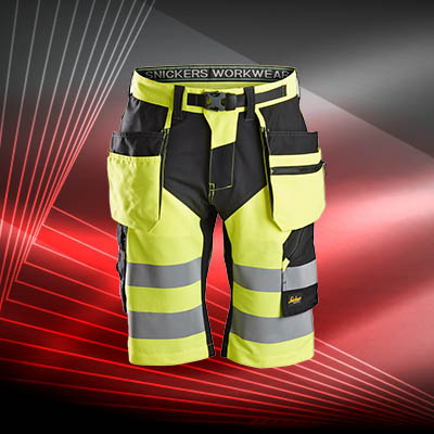 Shorts Haute visibilité